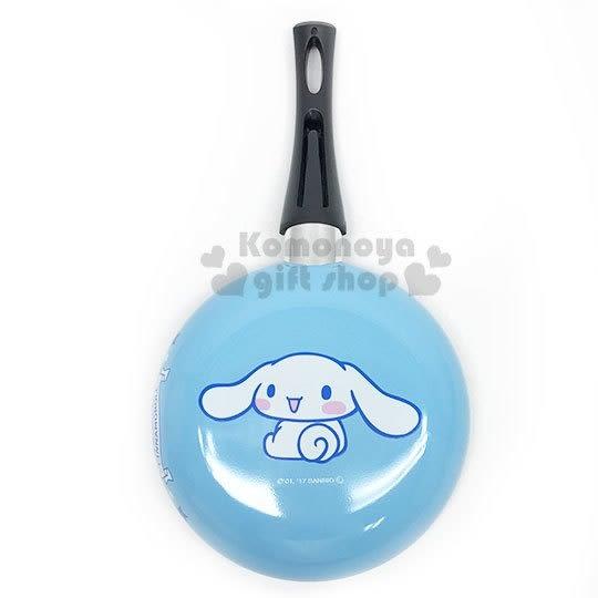 〔小禮堂〕大耳狗 單把平底鍋《藍》直徑18cm.鐵鍋.鬆餅鍋 4983164-72732