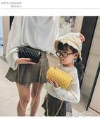 ins超火迷你小包包女韓版菱格錬條包夏天百搭時尚側背包  ◣歐韓時代◥