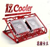 筆電散熱器14寸15.6電腦散熱底座支架墊 BF1089【花貓女王】