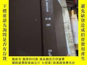 二手書博民逛書店EXPERIMENTAL罕見PARASITOLOGY 85-86