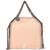 Stella McCartney Falabella TINY 兩用鍊帶包(TINY/粉裸色) 1530385-39