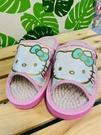【震撼精品百貨】凱蒂貓_Hello Kitty~日本SANRIO三麗鷗 KITTY 室內按摩拖鞋-蝴蝶結/粉色(尺寸M~L)#41591
