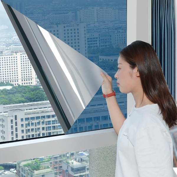 隔熱膜窗戶防曬玻璃貼膜單向透視防窺陽台遮光遮陽家用玻璃紙貼紙 陽光好物