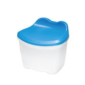 皮蛙蛙收納椅凳 CB-12L 時尚藍