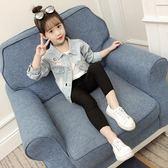 童裝春秋款女童牛仔外套韓版開襟外套外衣潮熊猫本