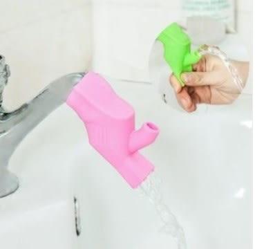 預購-兒童兩用糖果色高彈性硅膠水龍頭延伸器 刷牙漱口導水槽