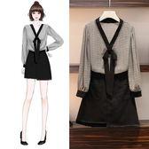 大女孩L-5XL實拍棉花糖大碼半裙套裝時尚顯瘦減齡襯衫兩件套套裝4F119.8283-1皇潮天下