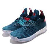 adidas 籃球鞋 Harden Vol.2 Step Back 藍 白 BOOST中底 哈登 男鞋【PUMP306】 AH2216