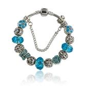 串珠手環-復古閃亮鑲鑽精緻水晶飾品女配件73kc391[時尚巴黎]
