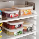 日式日式冰箱保鮮盒水果盒廚房收納盒微波爐便當盒塑料飯盒密封盒