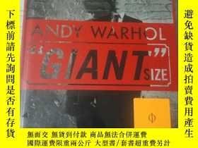 二手書博民逛書店Andy罕見Warhol: Giant Size, Larg