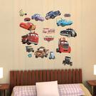 迪士尼-汽車總動員創意壁貼/麥昆/CARS 35*50cm