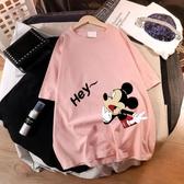 孕婦裝潮2020夏款T恤短袖純棉上衣服夏季孕婦裙子潮媽洋裝夏裝 滿天星