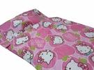 【貝淇小舖】 ~2013 台灣精製 【HELLO KITTY】粉色 標準兒童睡袋~加大款