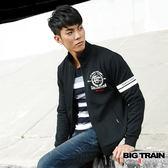 BIG TRAIN 東京黑魂立領外套-男-黑色