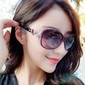 墨鏡女潮太陽鏡女2018新款時尚復古原宿風圓臉個性長臉眼鏡【一條街】