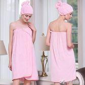天絲棉成人浴巾可穿女性感抹胸浴裙比全純棉吸水不掉毛 樂芙美鞋
