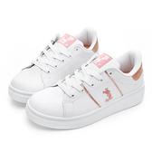 DISNEY 魅力米奇電繡休閒鞋-玫瑰金-DW5602