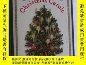 二手書博民逛書店A罕見Treasury of Christmas Carols 聖誕頌歌集錦 大開本 銅版紙印刷Y83259