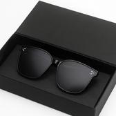 太陽眼鏡GM墨鏡女潮防紫外線眼鏡2019新款街拍太陽鏡qaz