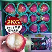 【果之蔬-全省免運】南投黑珍珠蓮霧禮盒X1箱(10-12顆/盒 每盒約2kg±10%含盒重)
