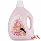 白鴿柔軟香衣精-幸福花香3200g*4(箱)【愛買】