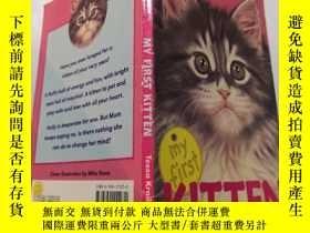 二手書博民逛書店My罕見first kitten:我的第一只小貓Y212829