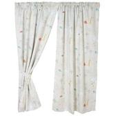 動物樂園抗菌遮光窗簾寬290X高210cm