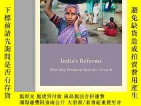 二手書博民逛書店India s罕見Reforms: How They Produced Inclusive Growth (stu