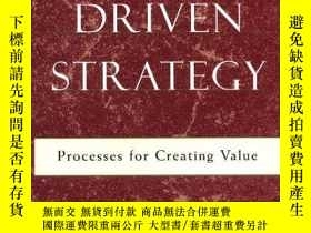 二手書博民逛書店Market罕見Driven Strategy: Process
