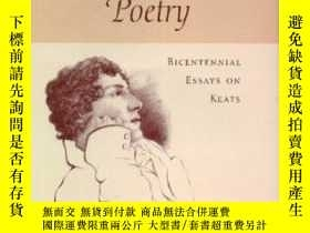 二手書博民逛書店The罕見Persistence Of Poetry: Bicentennial Essays On Keats奇