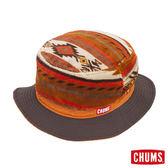 CHUMS 日本 雙面風格漁夫帽 橘 CH051033D001