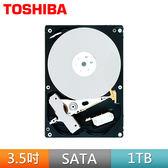 [哈GAME族]免運費 可刷卡 TOSHIBA 東芝 1TB 32M 3.5吋 SATA3硬碟 內接式硬碟 7200RPM轉速 DT01ACA100