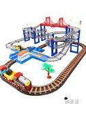 軌道玩具拖馬斯小火車套裝軌道電動汽車恐龍男孩玩具高鐵和諧號XW