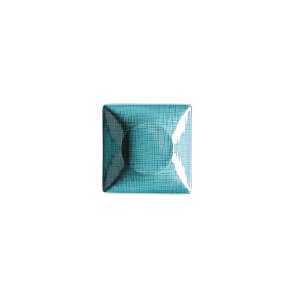 德國 Rosenthal Mesh正方深盤-藍