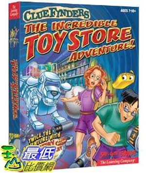 [美國直購 ShopUSA] Cluefinders: The Incredible Toy Store Adventure $698