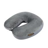 AOU 旅行配件 頸部工學U型枕 護頸枕 靠枕 午睡枕 (煙灰色) 66-015D4