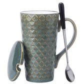 馬克杯大容量簡約創意水杯陶瓷杯子男女辦公室茶杯家用【聖誕節禮物】