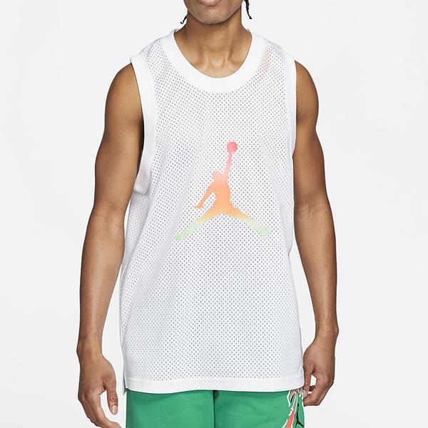 NIKE SPRT DNA HBR JERSEY 白 男 JORDAN 喬丹 籃球 運動 無袖 背心 CZ4860100