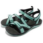 Merrell 涼拖鞋 Siren Strap Q2 綠 黑 綁帶 戶外涼鞋 女鞋 【PUMP306】 ML12712