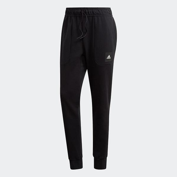 Adidas Must Haves Stadium Pants 男裝 長褲 慢跑 休閒 側口袋 縮口 小布標 黑【運動世界】FR7160