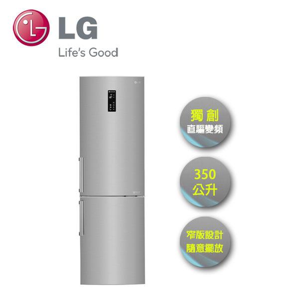 LG   350L 上下門 直驅變頻 精緻銀 GW-BF388SV