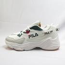 FILA 復古慢跑鞋 老爹鞋 運動鞋 休閒鞋 男款 1J329V116 米白綠【iSport愛運動】