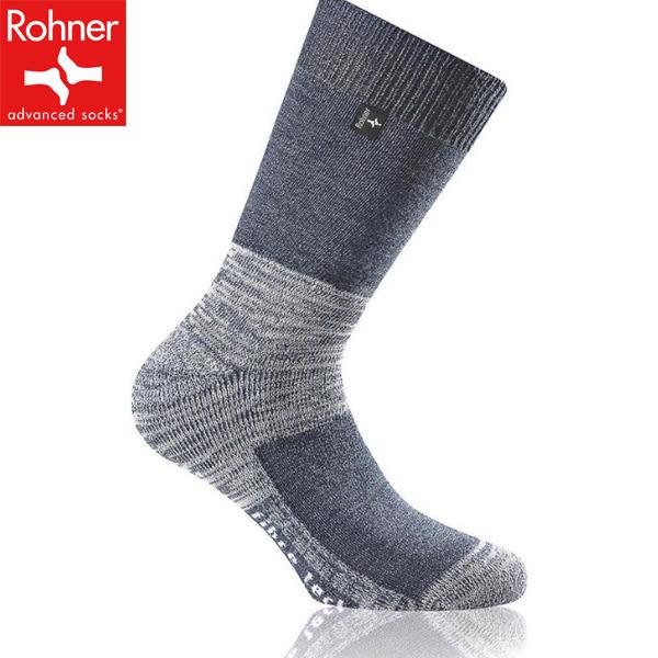 Rohner fibre tech 60300-115單寧藍 保暖羊毛襪/登山健行/高筒排汗襪/瑞士/路跑慢跑/自助旅行/美麗諾