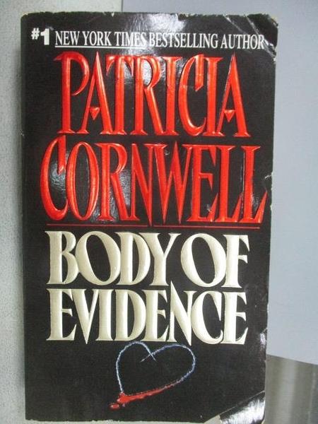 【書寶二手書T4/原文小說_CQA】Bodt of Evidence_Patricia Cornwell