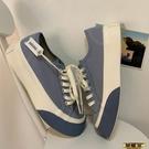 板鞋 小眾設計感百搭帆布鞋鹽系鞋子女街拍潮鞋原宿板鞋韓版3C 618購物