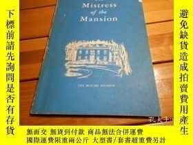 二手書博民逛書店THE罕見MISTRESS OF THE MANSIONY204