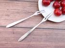 不鏽鋼 小叉子 水果叉 蛋糕叉 不鏽鋼叉 冰淇淋叉 西餐叉 點心叉 (單隻入)