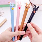 【BlueCat】聖誕節彩色麋鹿水性筆 中性筆
