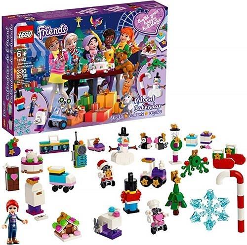 LEGO 樂高  Friends Advent Calendar 41382 Building Kit, New 2019 (330 Pieces)